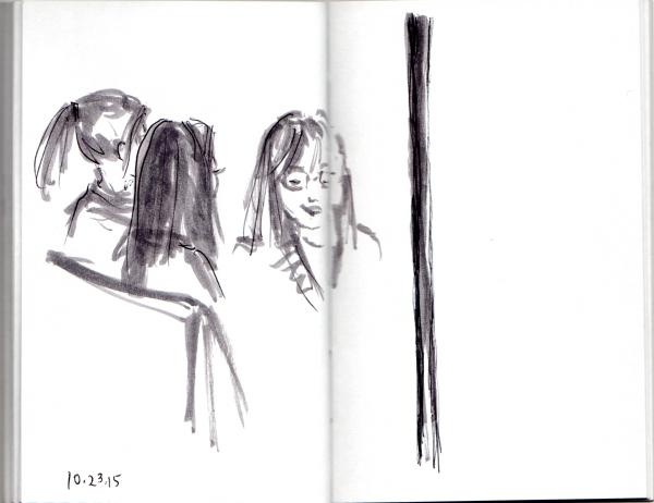 Three Women on the Subway