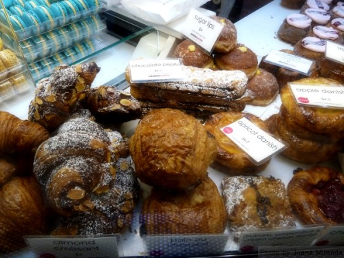 Assorted pastries at Nosh2