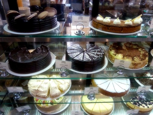 Cakes at Old Vienna cafe