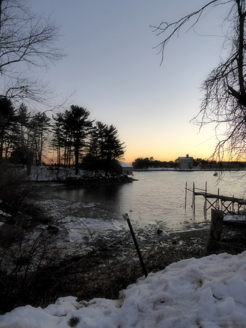 cottage on stilts in Kittery, ME