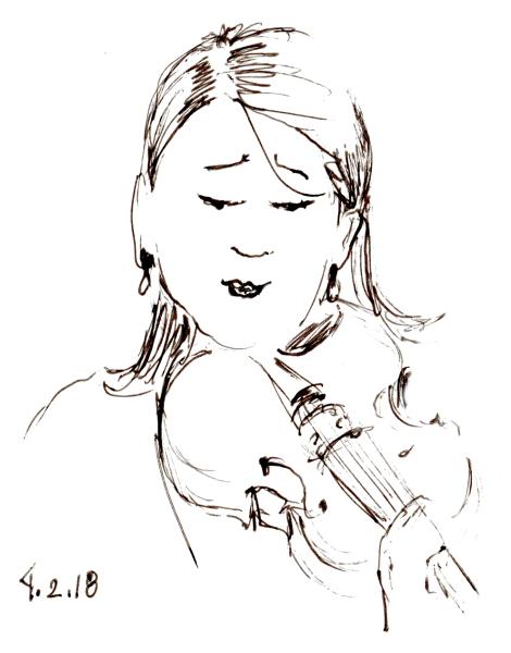 Violist Sketch