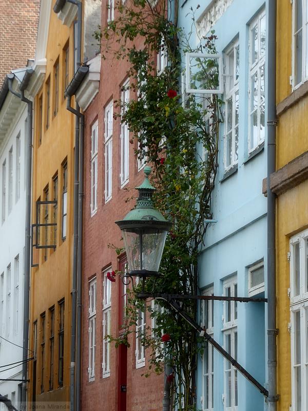 Photo of beautiful street in Copenhagen, Denmark