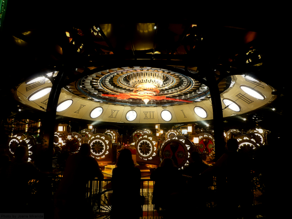 Clock ride at Tivoli Gardens