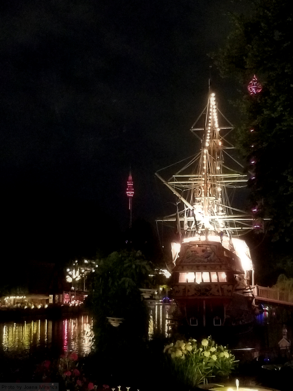 Pirate ship at Tivoli Gardens