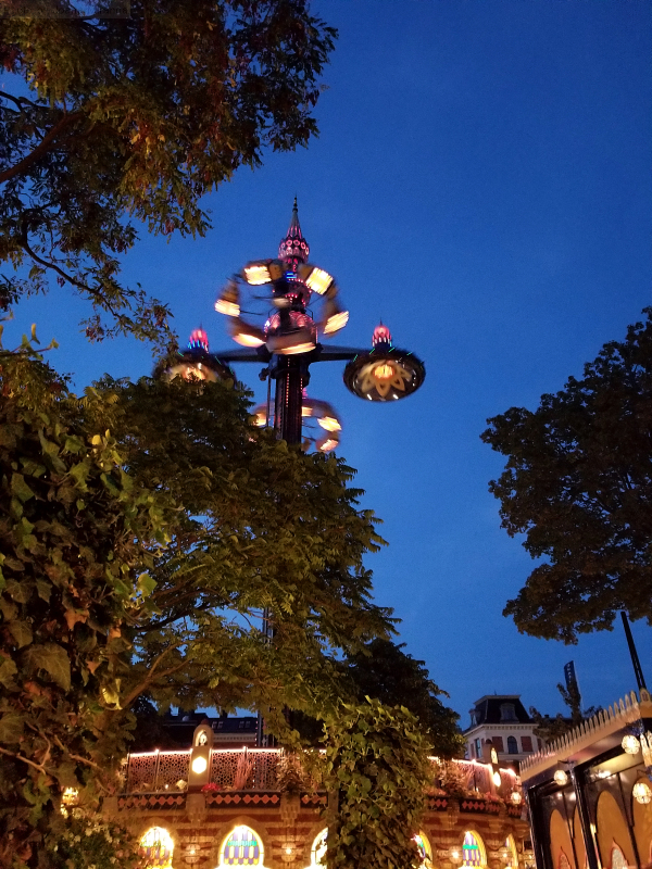 Fatamorgana ride at Tivoli Gardens