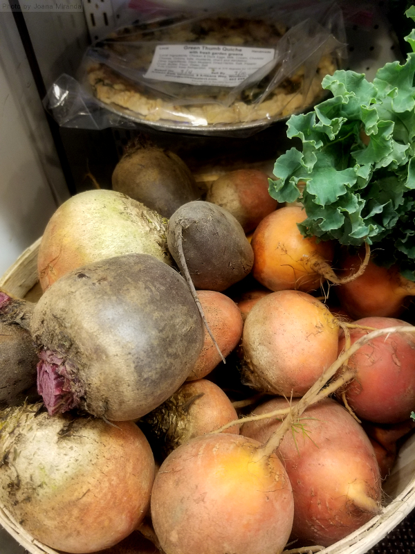 Photo of organic Vermont farm grown beets
