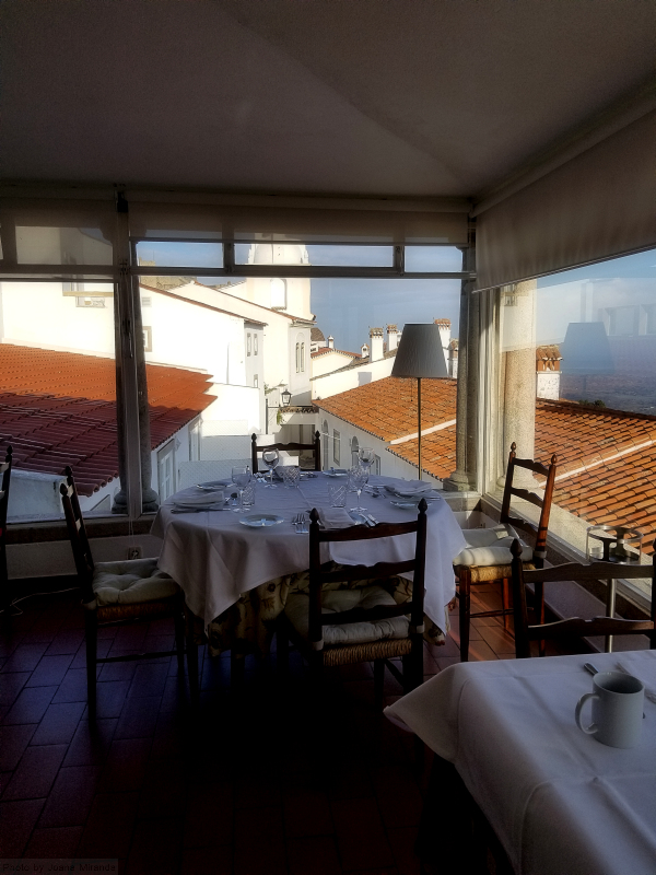 Photo of dining room at Pousada Santa Maria in Marvao