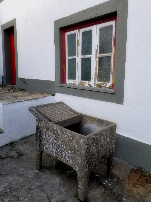 Old washing basin in Marvao