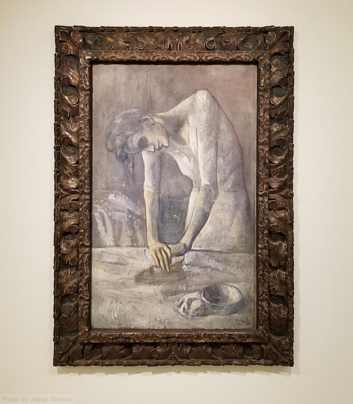 Picasso at the Guggenheim museum, photo by Joana Miranda
