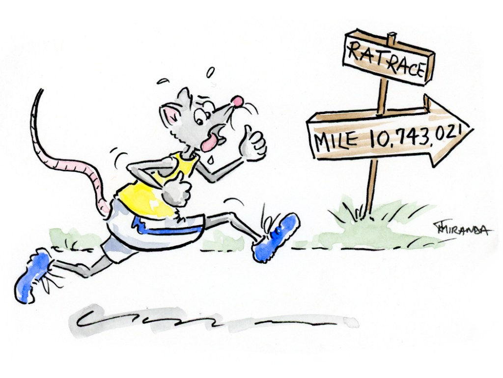 Cartoon-rat-race-illustration-by-Joana-Miranda