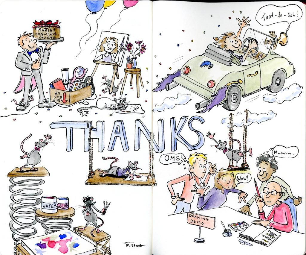 Free-hand art doodles by Joana Miranda