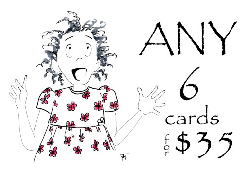 Save when you purchase a boxed set of six cards from Joana Miranda Studio