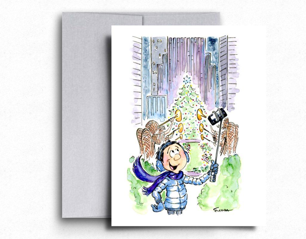 I Love NY Cards - Rockefeller Center - by Joana Miranda