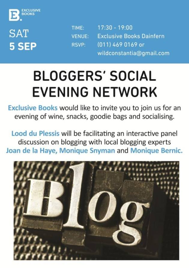 Bloggers social flyer