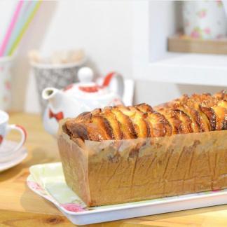 Cake Pomme Noix Cannelle vegan