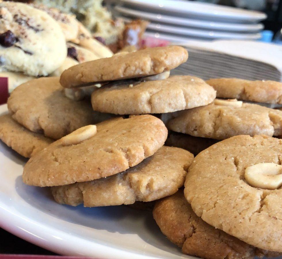 Mini cookie cacahuètes petit déjeuner vegan entreprise