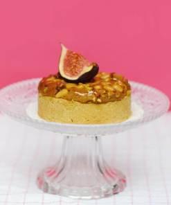 Amandine pignon et figues de corse vegan par jo and nana cakes