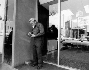 1974012033 Man in Doorway ABQ, 1974-12(33) 1974