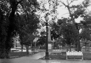 1976008005 Santa Fe Plaza in the Rain 1976