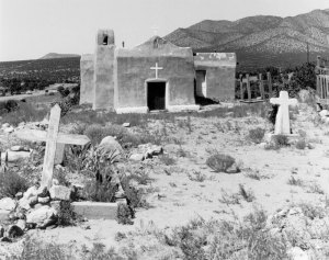 1985001004 Church at Golden NM 1985