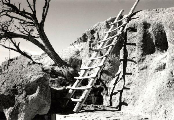2009028004 Tsankawi Ladder, NM 2009