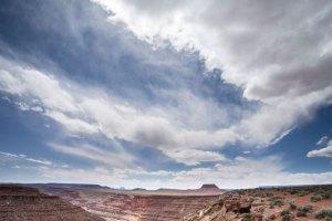 20150372DC Clouds Over Lime Ridge, Utah 2015