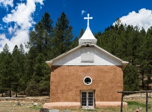 20180158DC Roadside Church, NM 2018