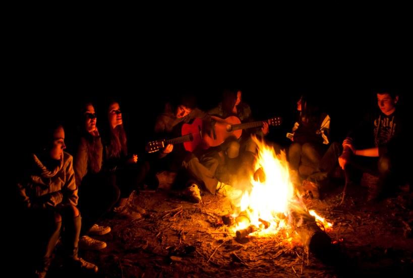 A la vora del foc (Alguaire - març 2012)