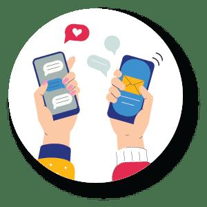 Icône contact