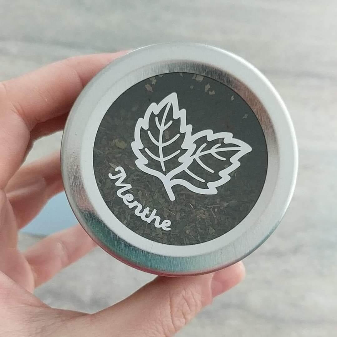Pot à épice - autocollant vinyle
