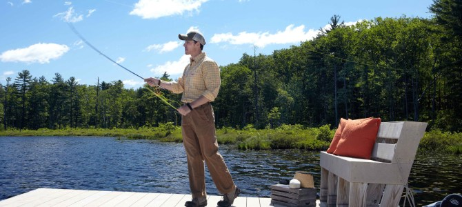 The Lodge at Woodloch Fly-fishing to escape