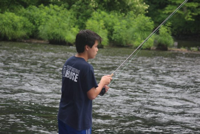 Family Fly Fishing Fun