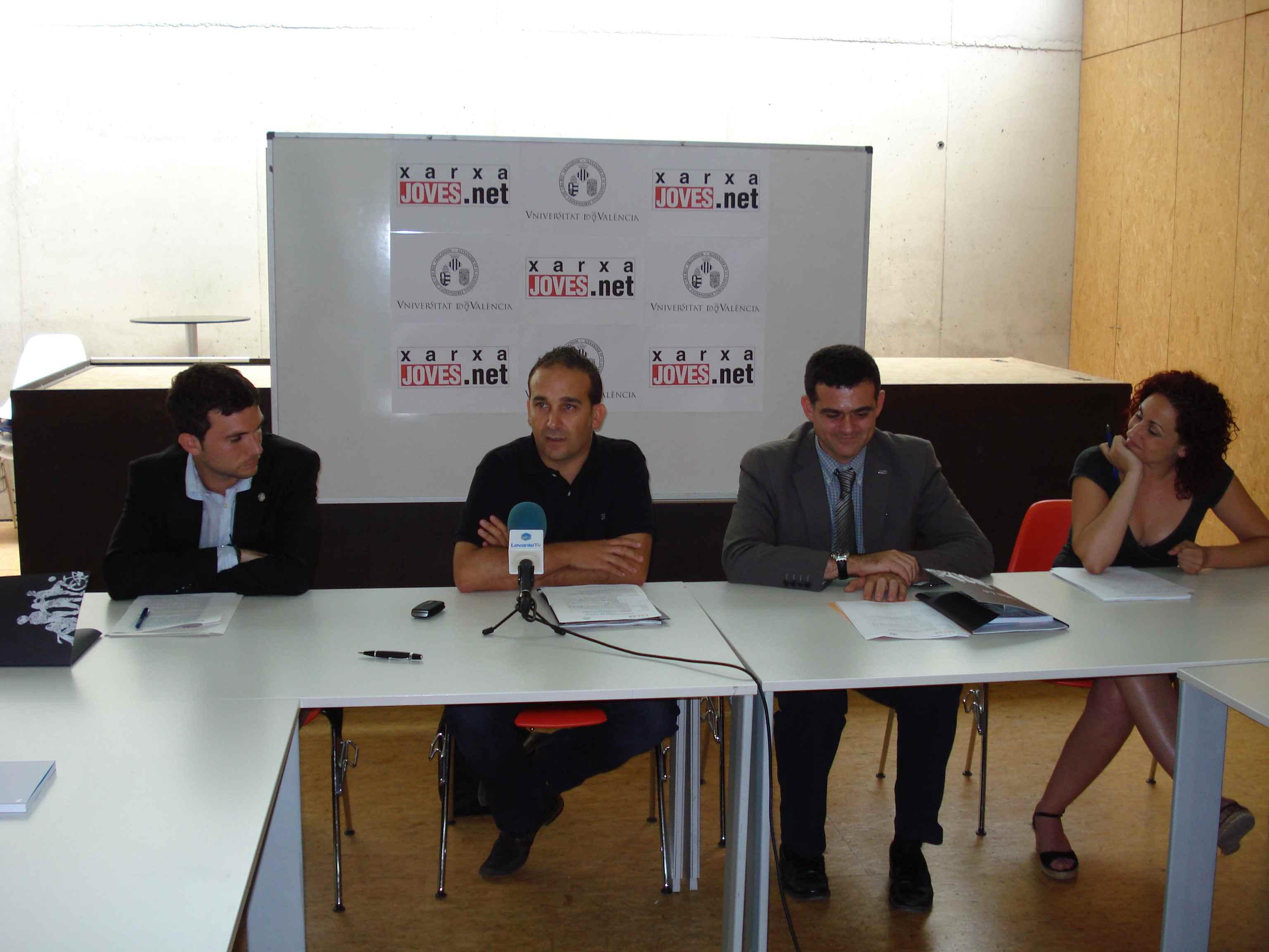 Daniel González, Juan Medina y Enrique Bigné