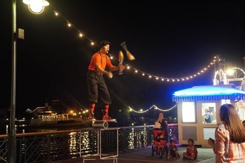 Disney Boardwalk Performer