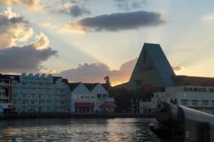 Disney Boardwalk Sunset