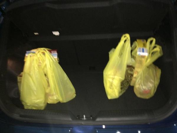 trunk groceries