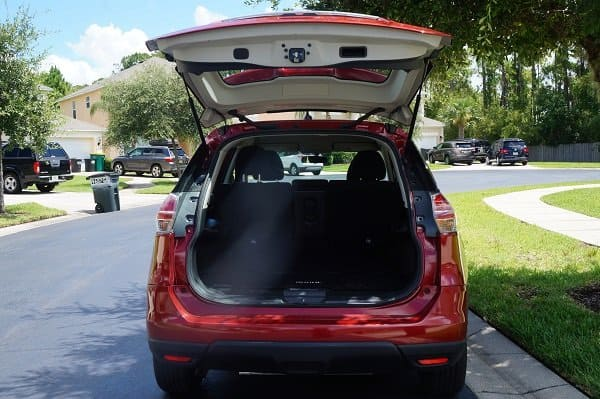 Nissan Rogue Trunk