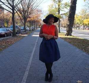 Full Skirt with Floppy Hat