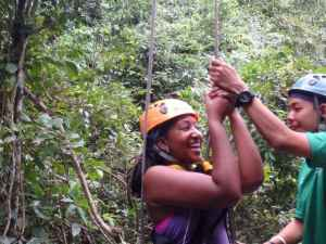 Ziplining with Flight of the Gibbon
