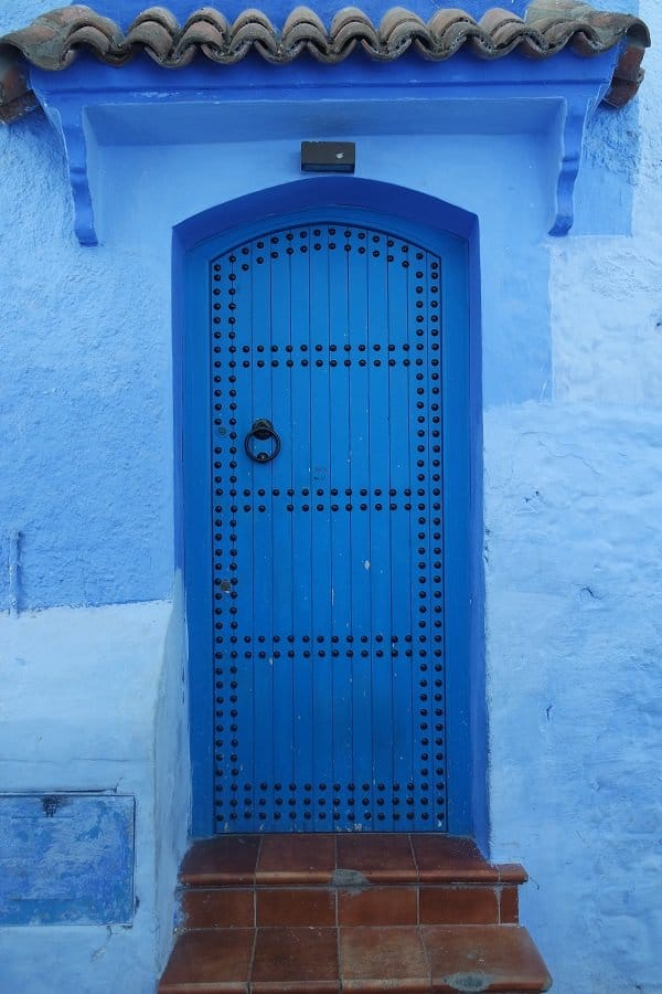Doors in Morocco Chefchaouen 1