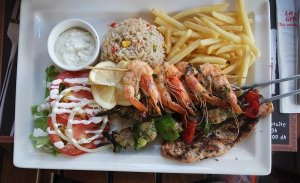 Seafood from Morocco