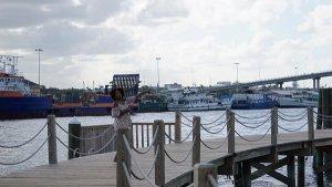 views of the nassau harbour