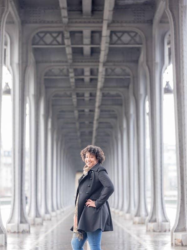 Paris Photoshoot - Le Pont de Bir-Hakeim