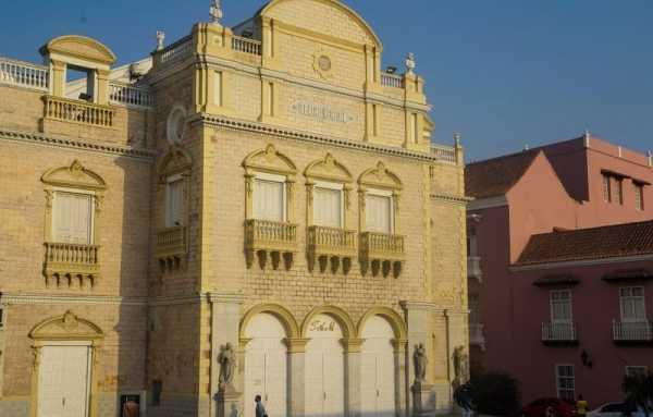 Cartagena Travel Guide - Teatro Adolfo Mejia (Teatro Heredia )