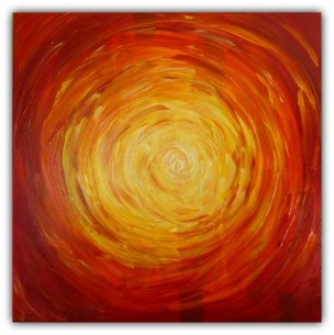 PAINTING ON CANVAS, ACRILIC, SIZE 60X60 CM (23,62x23,62 INCH), CATALOGUE NO. 25, STATUS: AVAILABLE