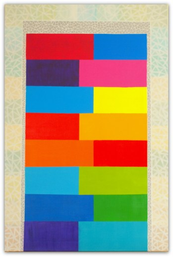 COLORS OF MARRAKECH, PAINTING ON CANVAS, ACRILIC, SIZE 80X120 CM (31,50x47,24 INCH), CATALOGUE NO. 64, STATUS: AVAILABLE