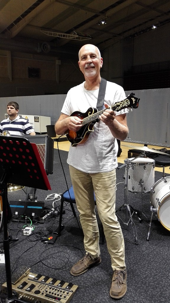 Jay Turner, composer and Mandolin Man
