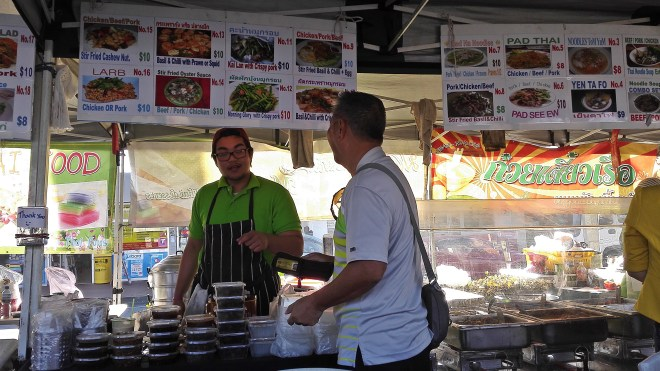 Woodridge Market Logan South East Asian street food Queensland