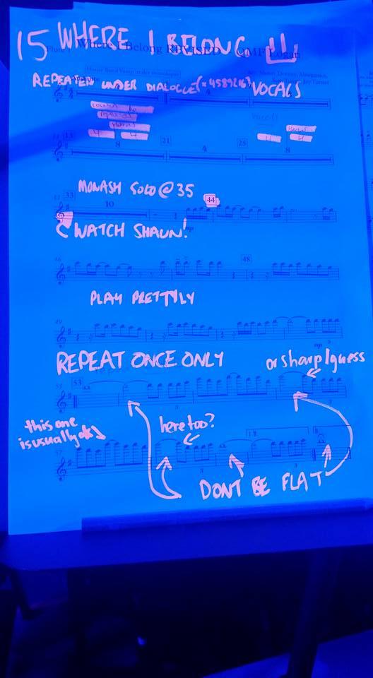 James Bun's music. So seasoned musicians write luminous notes!