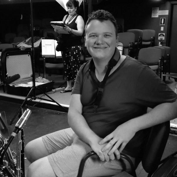 Alex Mackenzie, multi instrumentalist, saxophone, Dusty the original pop diva, music symbol tattoo treble clef bass clef